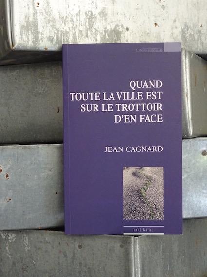 Trainance - Un nouveau texte de Jean Cagnard aux Éditions Espaces 34