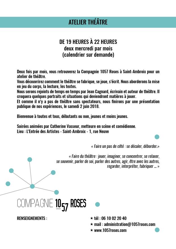 Trainance - REPRISE DU PAS DE CÔTÉ THÉÂTRE À SAINT-AMBROIX