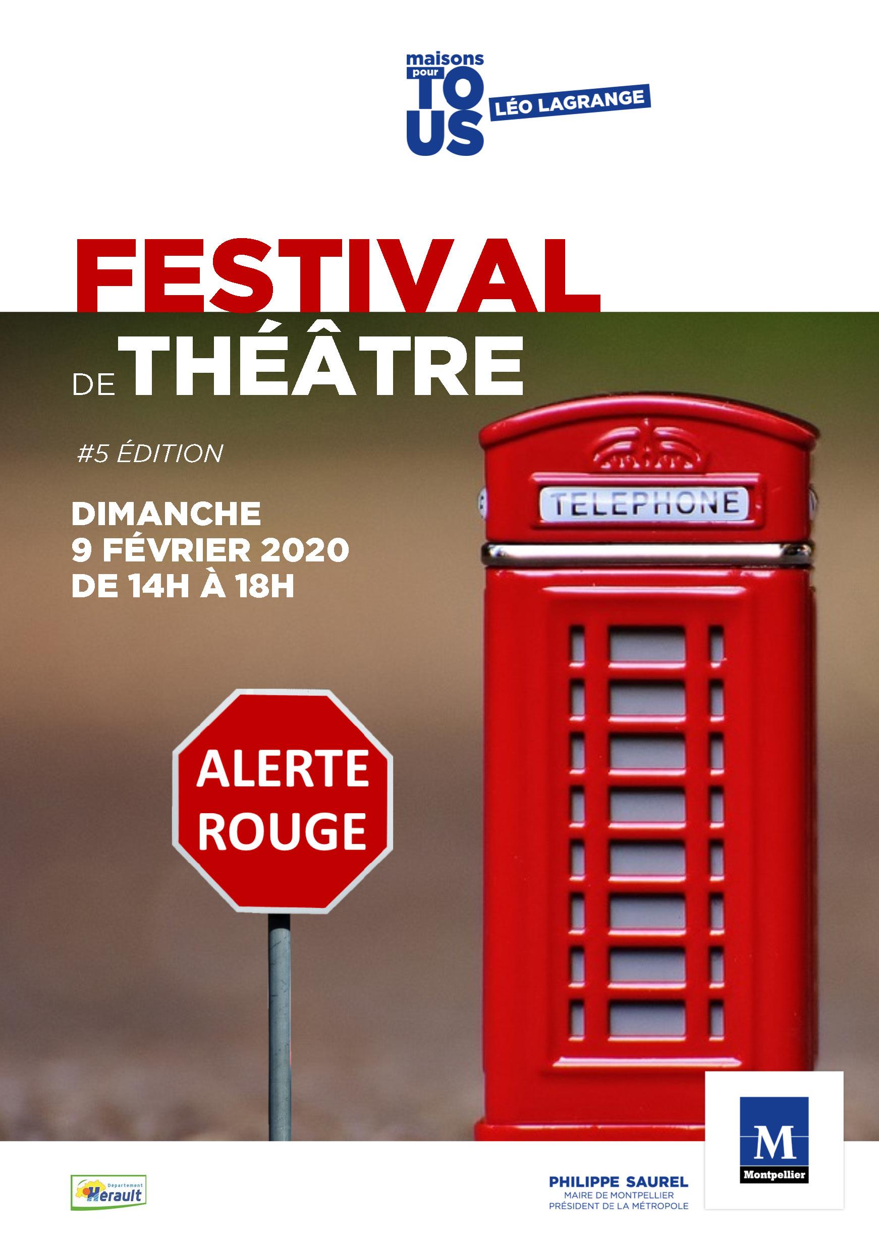 Trainance - Jean Cagnard parrain du 5ème Festival de Théâtre Alerte Rouge