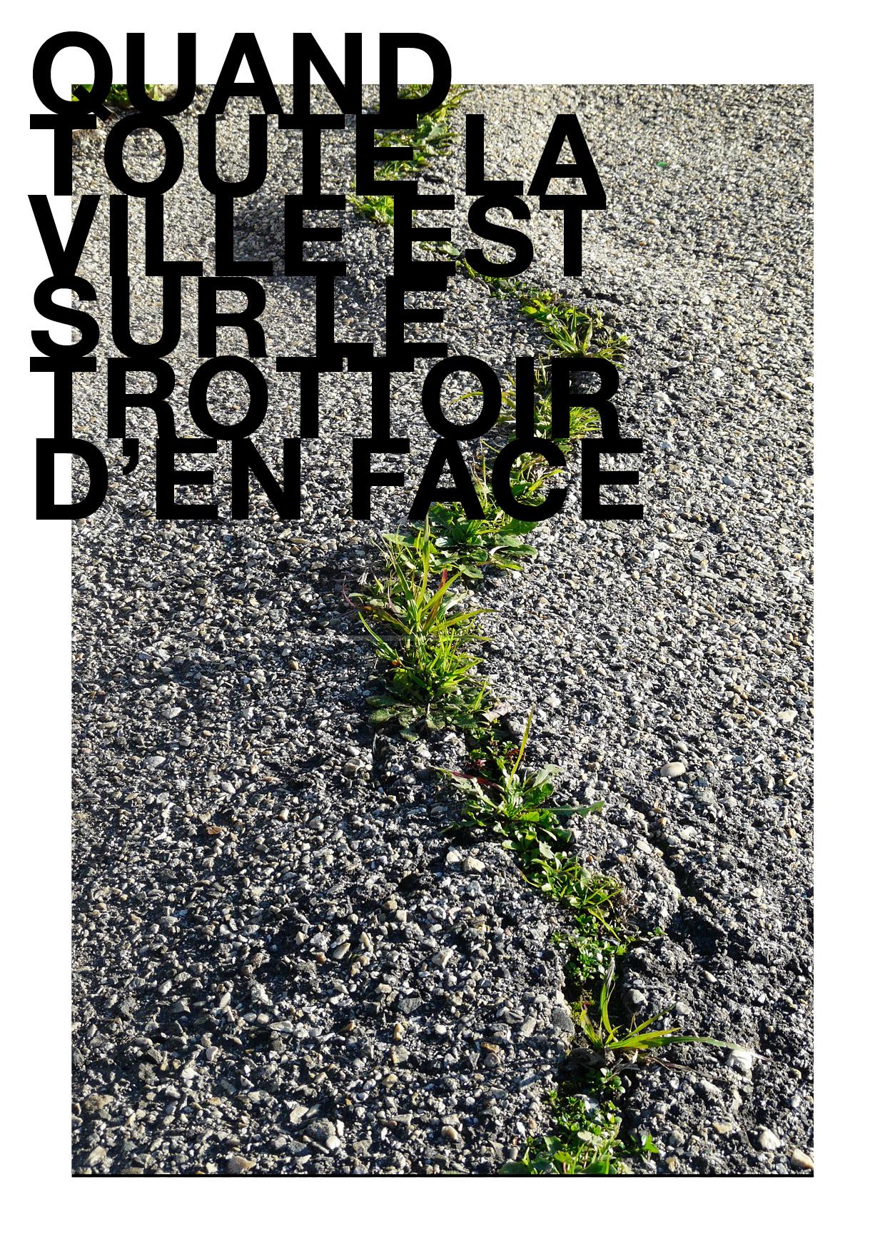 1057 Roses - Quand toute la ville est sur le trottoir d'en face